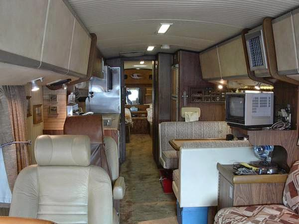 Bluebird Wonderlodge Motorhome Interior on clark cortez motorhome interior