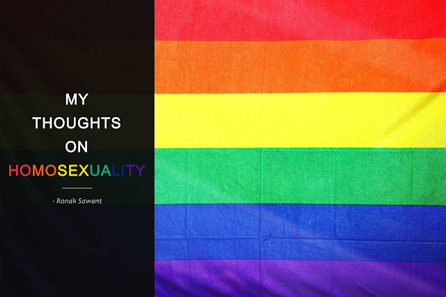 Cover Photo: My thoughts on homosexuality