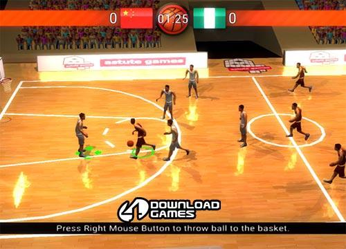 لعبة كرة السلة العالمية Basketball World