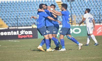ملخص اهداف مباراة سموحة ومصر المقاصة (1-1) الدوري المصري
