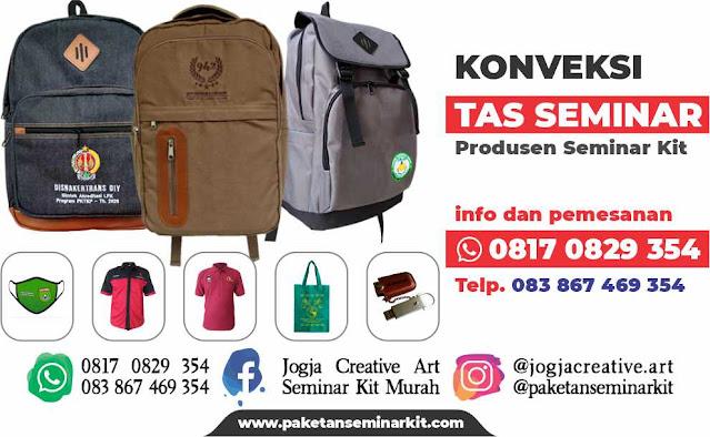 Konveksi Tas Seminar Kit Malang Jawa Timur 0817 0829 354
