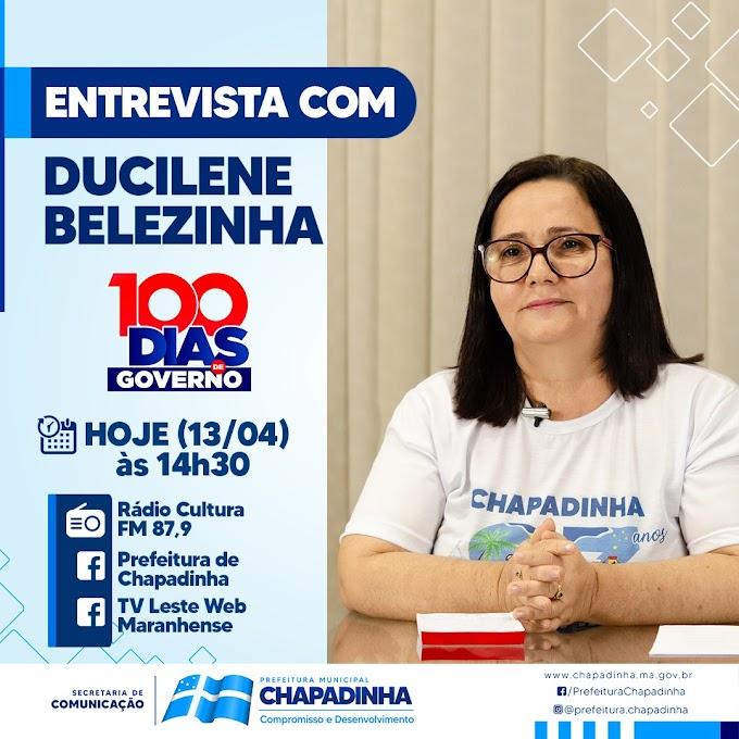 100 Dias de Governo: Prefeita Belezinha concede entrevista a radio cultura FM