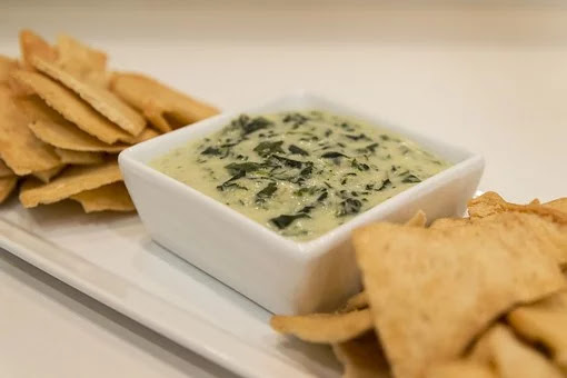 lowfat spinach dip