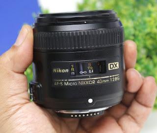 AF-S Nikon 40mm f2.8G Bekas