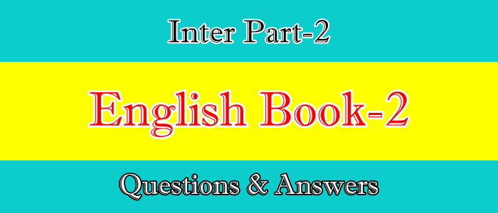 2nd Year English Book II Questions and Answers Notes Free PDF