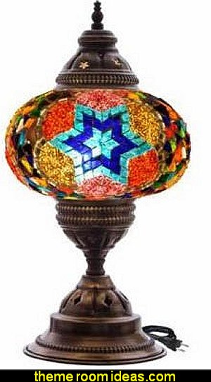 Moroccan table lamps