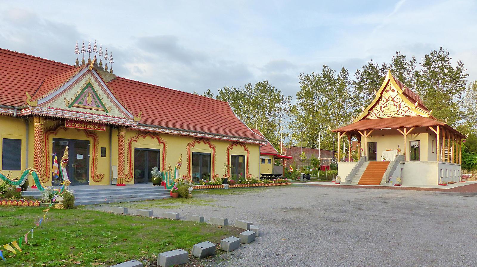 Temple Bouddhiste Lao, Roubaix.