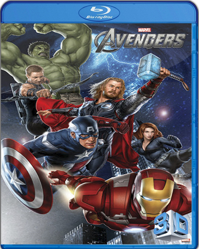 The Avengers [2012] [BD50] [Latino] [3D]