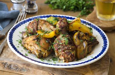 receta de cocina de pollo al limon