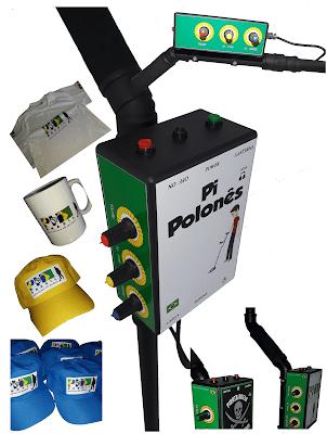Detector PI Polonês + Brindes