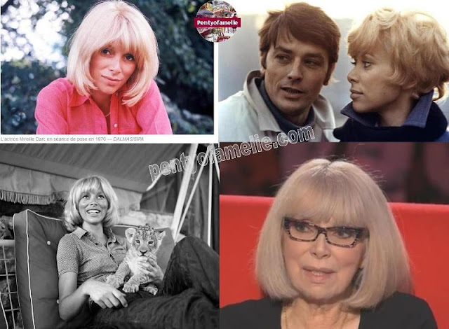 Mireille Darc Model, Actress, Director. Documentary Films, another great talent, she directed no less than 13 TV documentaries.