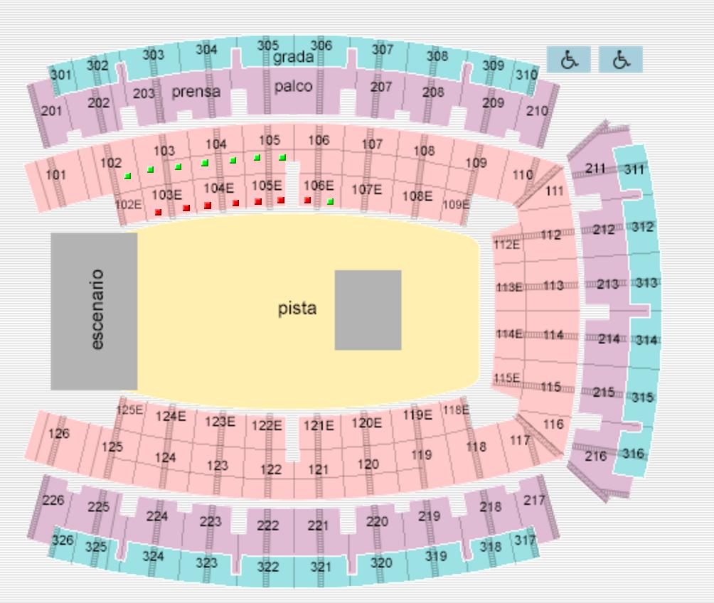 Palau Sant Jordi Mapa Zonas.Preguntas Frecuentes Sobre El Joanne World Tour En Barcelona