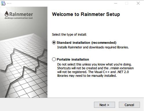 instalar rainmeter