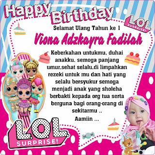 Video Birthday Viona Adzayra Fadilah - 12 / 06 / 2020