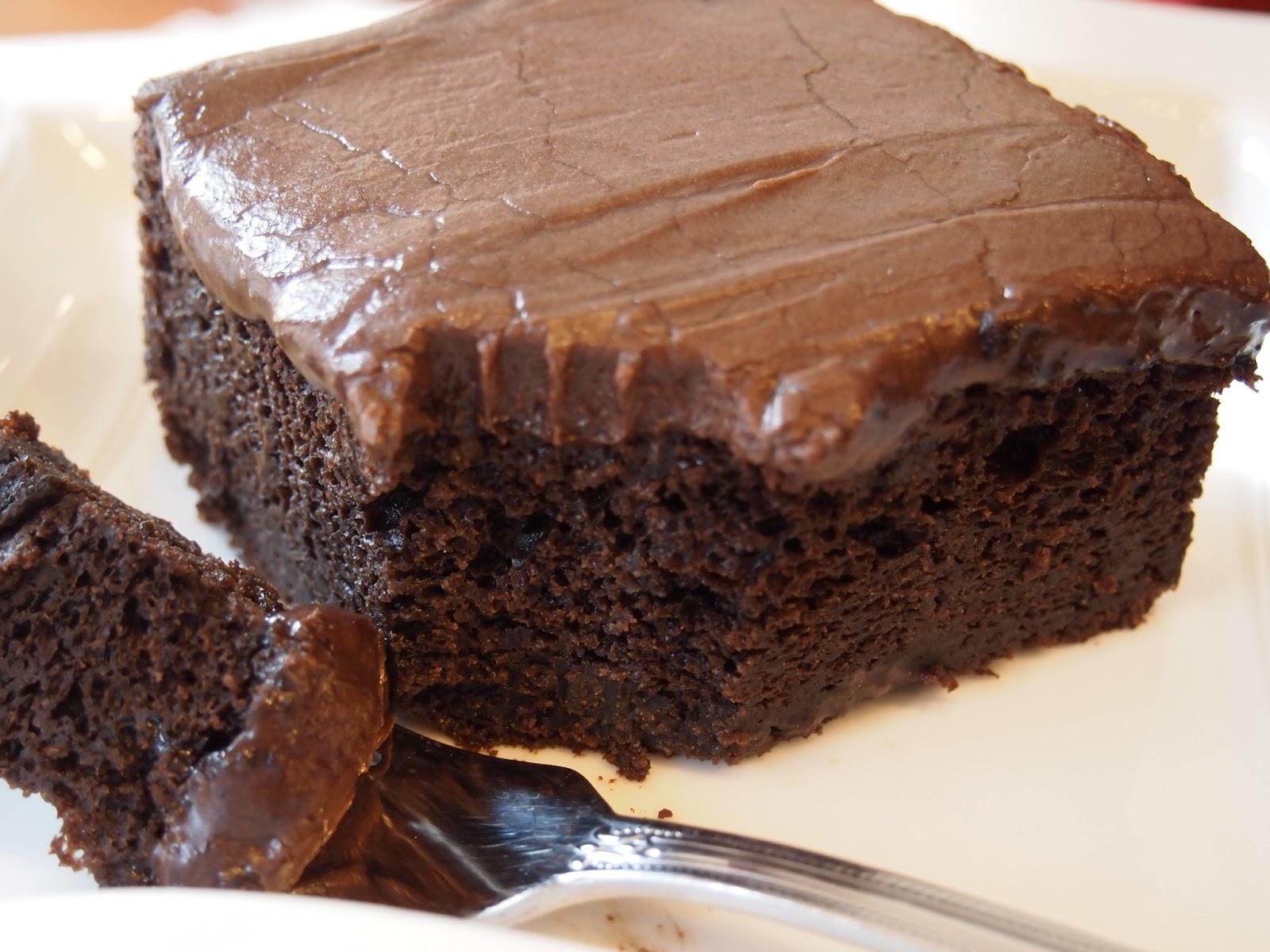 Gluten Free Chocolate Coke Cake