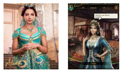 Jasmine aladdin 2019 vs Cecilia Game of Sultans