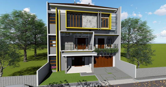 Gambar Rumah Lantai 3 Terbaru