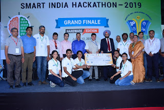 Smart India Hackathon 2019 Hardware Edition winners announced
