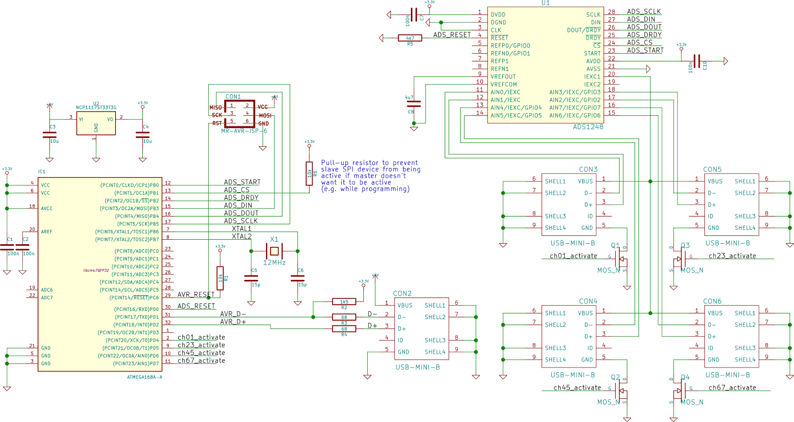 Embedded Systems And Applications In Physics Pt 100 Temperature Logger Usb Mini B Wiring Diagram For The Sensor Cables Ill Abuse Connectors Have 4 Wires Wire Measurements Type Is Robust Cheap Small