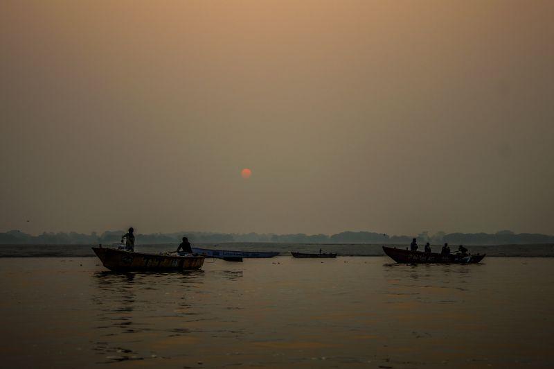 Sunrise at Ganga - Varanasi