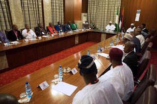 Buhari and Northern Christian Leaders Eagles Eyes Forum