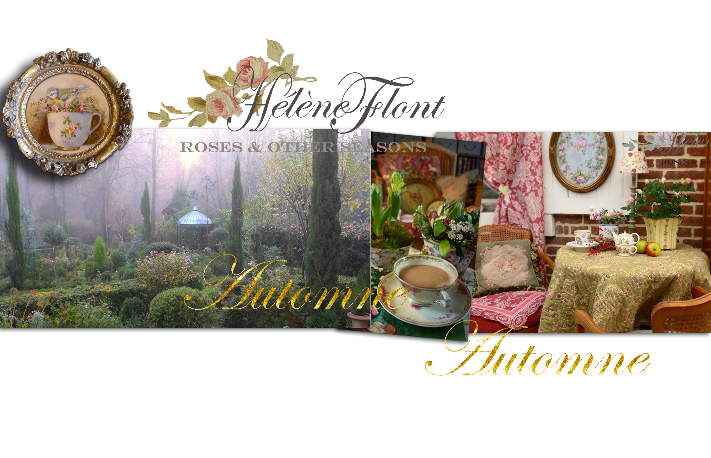 Roses & other seasons : A french Cottage Journal