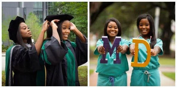 Ghanaian Mother and daughter graduate from medical school same day
