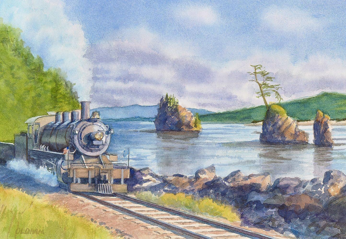 Transpress Nz Oregon Coast Scenic Railroad