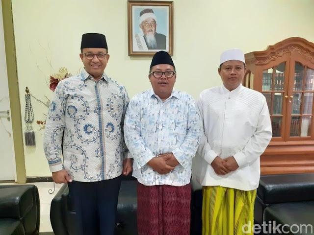 Bertemu di Pesantren Miftahul Huda, Wakil Gubernur Ridwan Kamil Akui Anies Capres Kuat 2024
