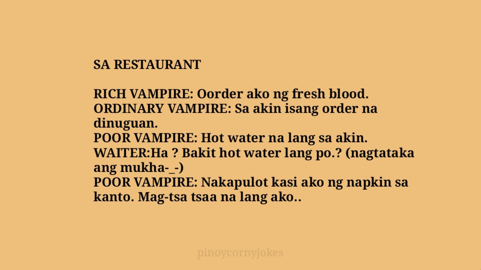 vampire best tagalog jokes 2021