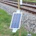 Sensoren checken de spoorligging bij Culemborg