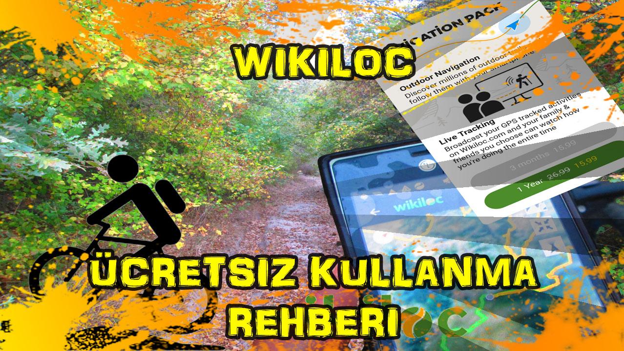 Wikiloc nasıl ücretsiz kullanılır?