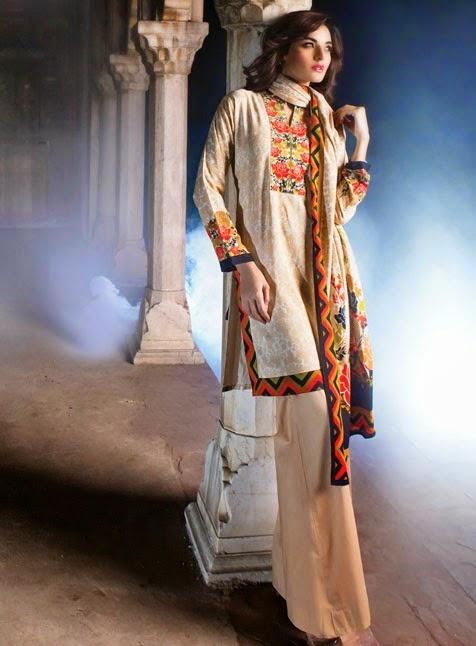 `ALKARAM  Summer Lawn Prints Collection 2014/15www.fashionwearstyle.com