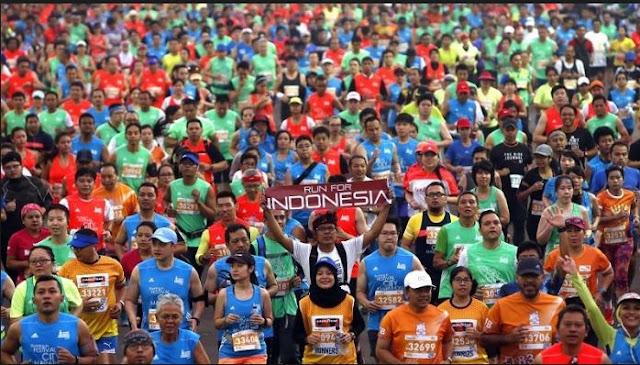 Sejumlah Pelari International Semarakan Jakarta Marathon 2016