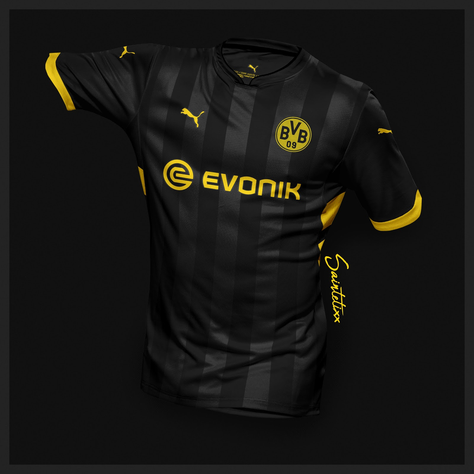 Incredible Puma Borussia Dortmund 19-20 Home, Away & Third ...