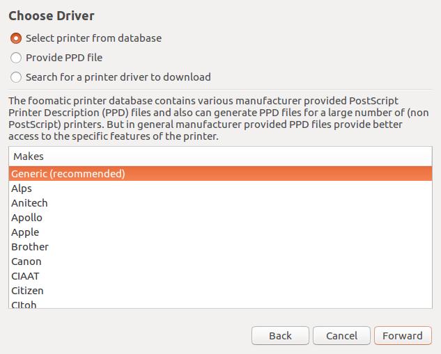 Install dan setting printer Epson L360 di Ubuntu Desktop