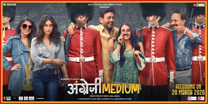 Angrezi Medium (2020) Bollywood full movie 300mb mp4 download By Filmywap