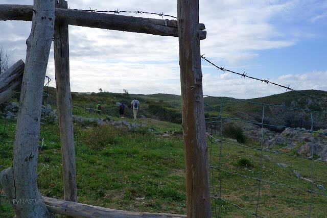 prados y acantilados en Llanes