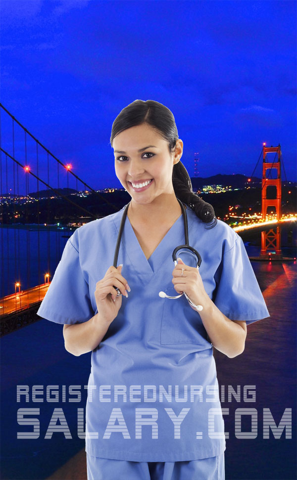 registered nurse salary in california
