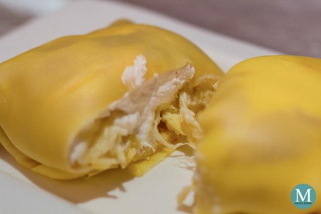 Durian Crepe at Shang Palace, Shangri-La Hotel Wuhan