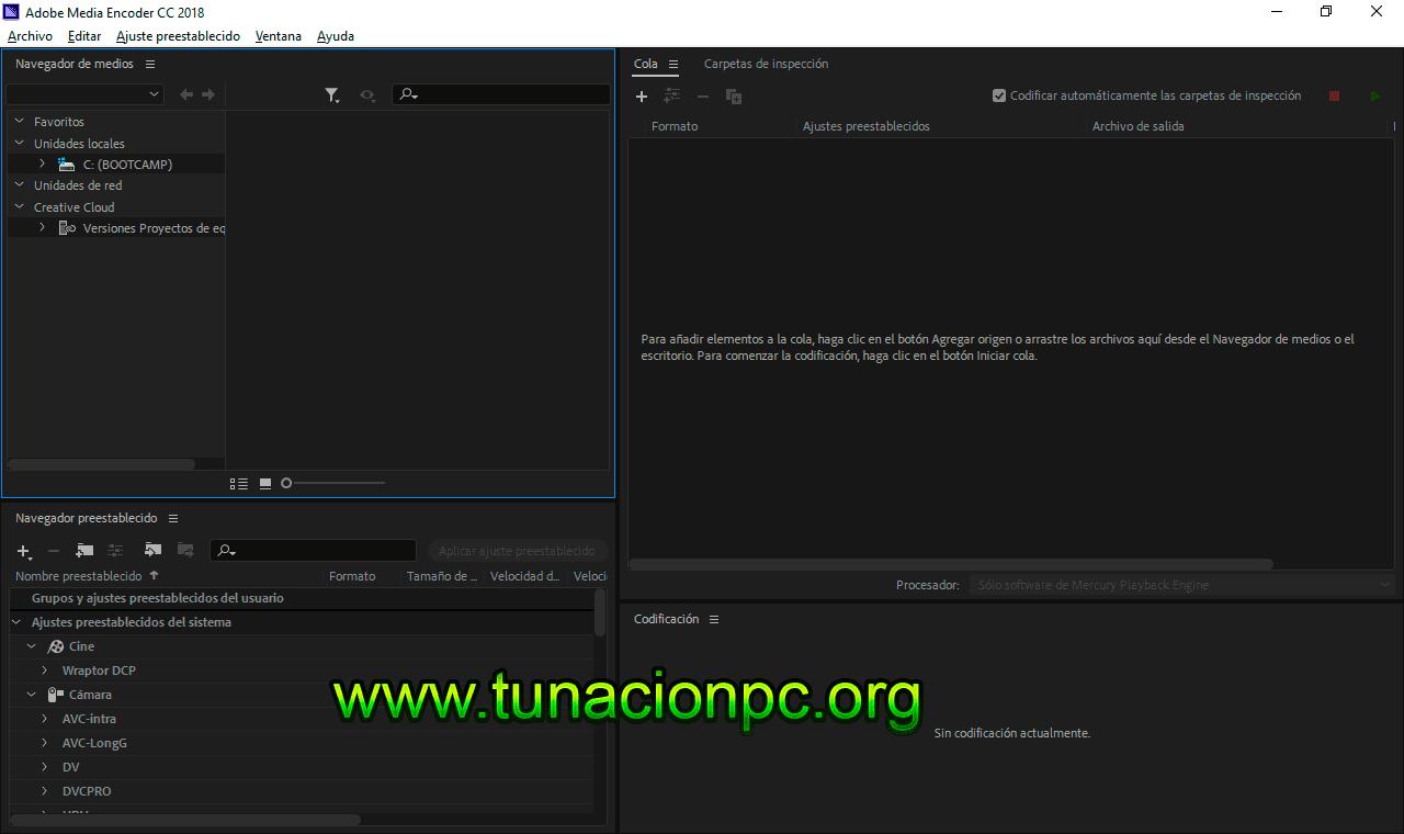 Descargar Adobe Media Encoder CC 2018 Full Español