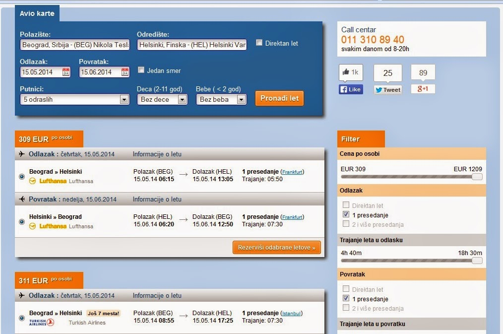 avionska karta do nemacke Put u Finsku i rezervacija avio karata preko interneta ~ F I N S K A avionska karta do nemacke