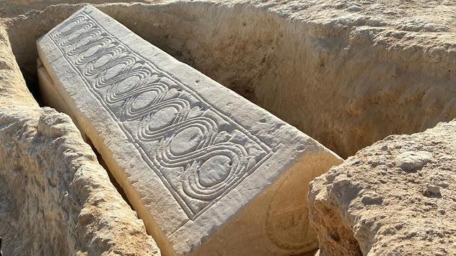 1,400-year-old Visigoth Sarcophagus found under Roman villa in Spain
