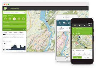 Komoot: l'app per il cicloturismo