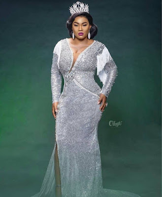 Latest lace gown styles for aso ebi and owambe