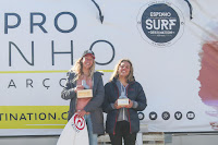 1 Melania Suarez Diaz ESP and Nadia Erostarbe EUK Junior Pro Espinho foto WSL Laurent Masurel