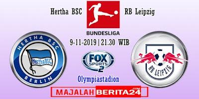 Prediksi Hertha BSC vs RB Leipzig — 9 November 2019