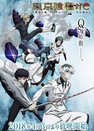 Download Anime Tokyo Ghoul: re Season 1 Episode 01-12 Subtitle Indonesia Batch 360p 480p 720p