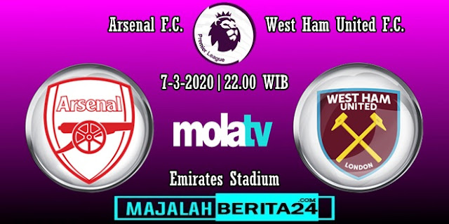 Prediksi Arsenal vs West Ham United