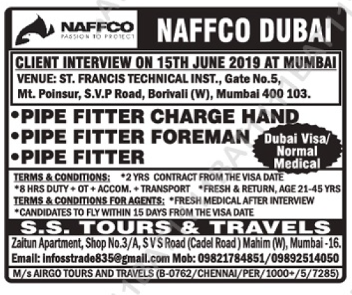Assignment Abroad Times - Today 12th June 2019 - Best Overseas Jobs